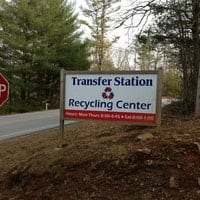 Towns County Recycling