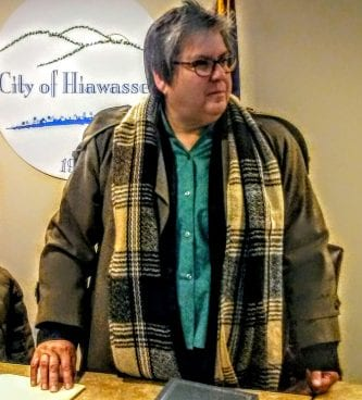 Hiawassee mayor Liz Ordiales