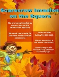 Scarecrows Hiawassee Square