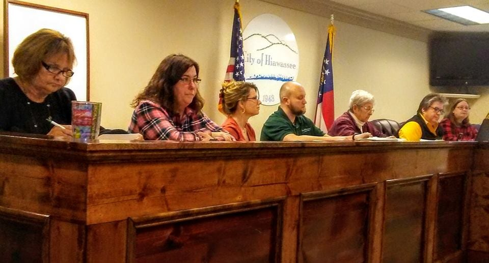 Hiawassee City Council