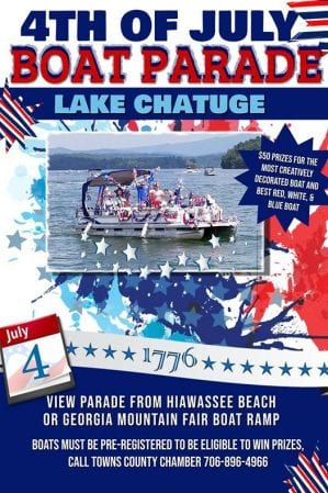 Lake Chatuge boat parade